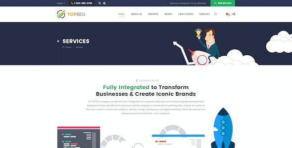 Top Seo - SEO Agency PSD Template
