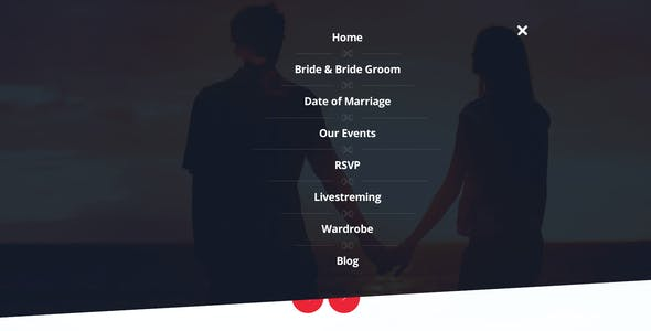 LoveBond One Page Wedding HTML Responsive Template
