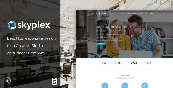 Skyplex - Creative Studio Template - Creative Site Templates