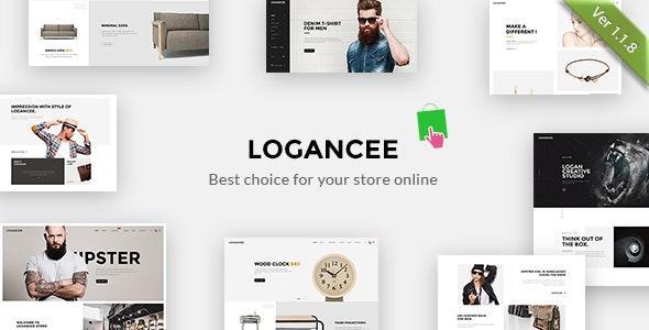 Logancee - Multipurpose Responsive Prestashop 1.6 & 1.7 Theme - Shopping PrestaShop
