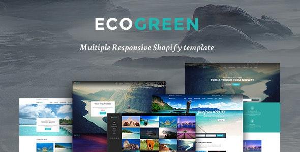 Ap Eco Green Shopify Theme - Entertainment Shopify
