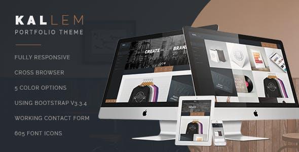 Kallem - HTML Portfolio template
