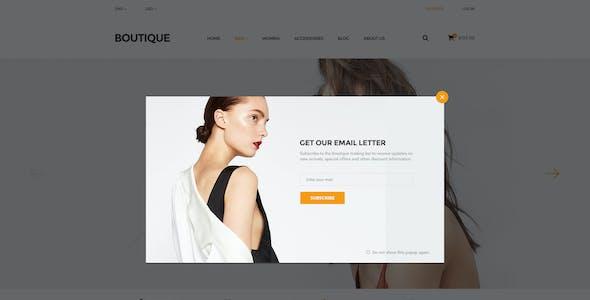 Boutique - Ecommerce PSD Template
