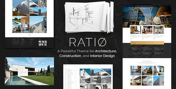 Ratio - A Powerful Interior Design and Architecture Theme - Portfolio Creative