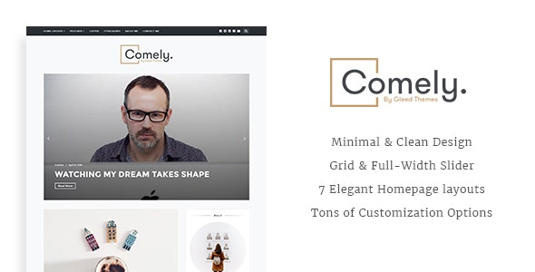 Comely - Responsive WordPress Blog Theme - Blog / Magazine WordPress
