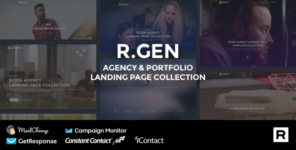 Agency HTML Landing Page - Landing Pages Marketing