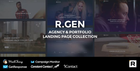 Agency HTML Landing Page