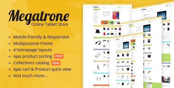 Megatrone - Responsive Shopify theme - Technology Shopify