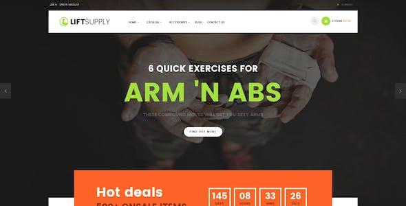 Lift Supply - Single Product Shopify Theme