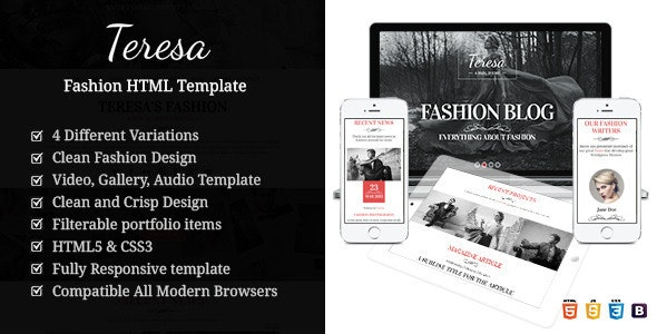 Vintage Fashion - Modeling HTML Template - Fashion Retail