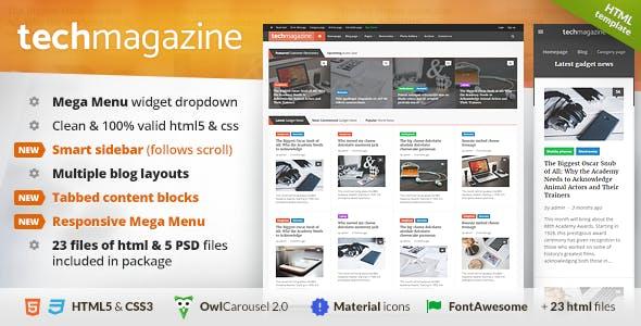 TechMag - Gadgets, Computers & Technology Blog, Magazine
