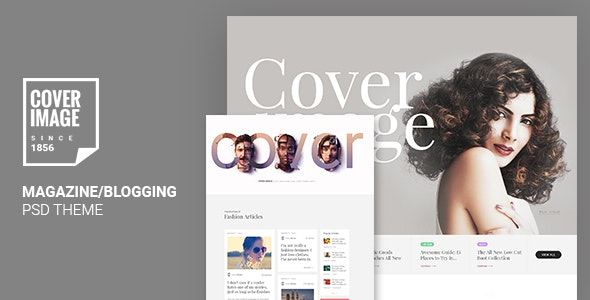 Cover Image | Online Magazine PSD Template - Business Corporate