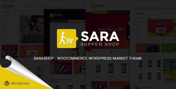 Sara - WooCommerce WordPress Market Theme - WooCommerce eCommerce