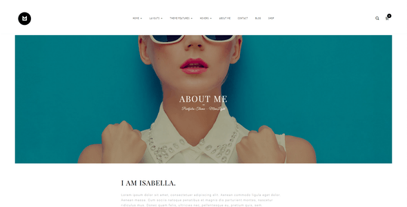 Minelight – Minimal Portfolio WordPress Theme