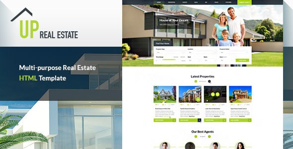 UP Real Estate HTML Template - Unlimited Potential for your Real Estate Business - Business Corporate