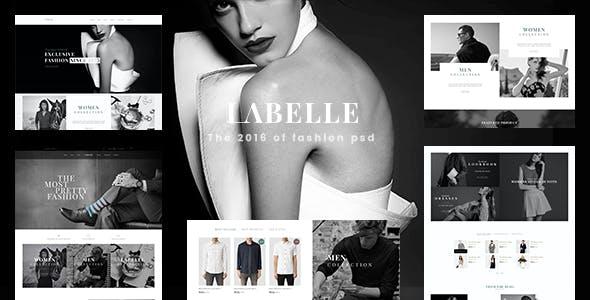 LaBelle - Fashion PSD Templates