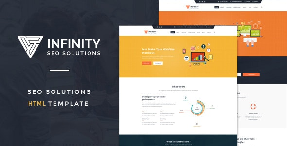 Infinit - High Performance HTML SEO Template - Business Corporate