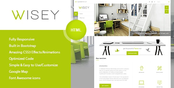 Wise - Multi-Concept HTML Template - Portfolio Creative