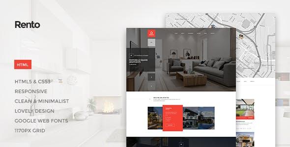 Rento - Real Estate HTML Theme