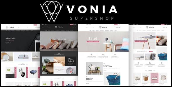Vonia - Furniture Store HTML Template