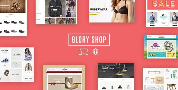 Glory Shop - Multipurpose Magento Theme - Shopping Magento