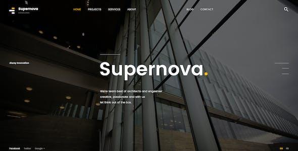 Supernova | Mutil-Concept Construction PSD Template