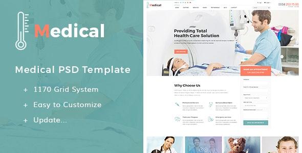Medical - PSD Templates - Business Corporate
