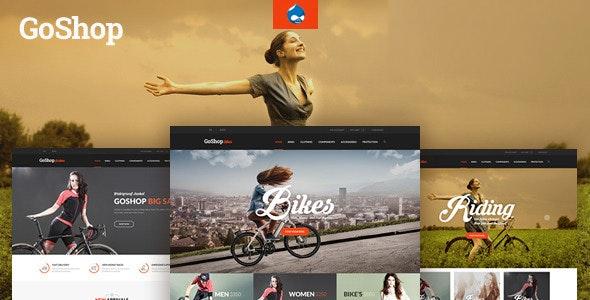 GoShop - Multipurpose Commerce Drupal 7.6 Theme - Shopping Retail