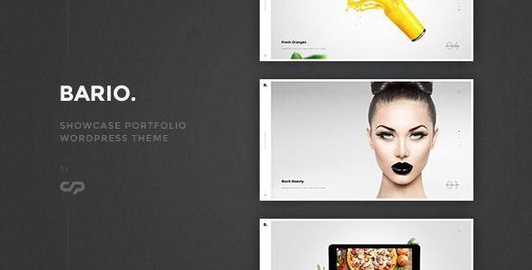 Bario - Showcase Portfolio WordPress Theme - Portfolio Creative