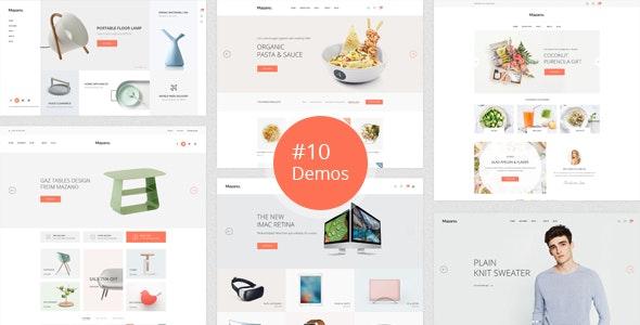 Mazano - Multi-purpose PSD Template - Shopping Retail