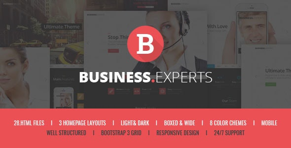 Business Experts - Responsive Corporate HTML5 Template - Business Corporate