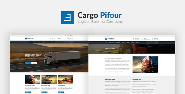 Cargo Pifour - Logistic and Transportation HTML5 Template  - Business Corporate