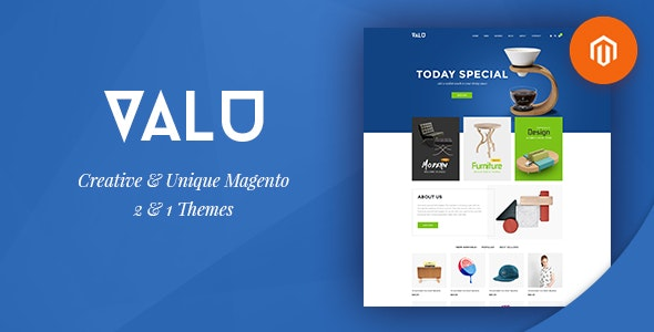 Ves Valu Magento 2 Template With Pages Builder - Shopping Magento