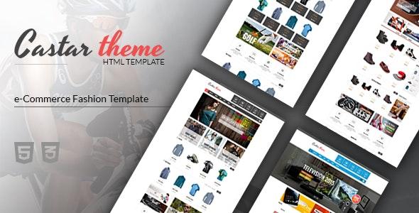 Castar - Fashion eCommerce HTML Template - Fashion Retail