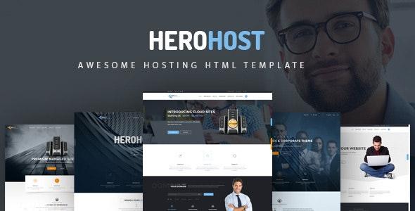HeroHost - Web Hosting HTML Template - Hosting Technology