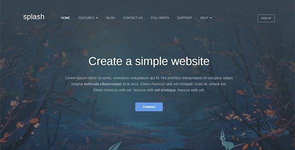 Splash - Business WordPress Theme - Business Corporate