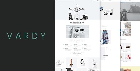 Vardy – Creative and Ecommerce WordPress Template - Creative WordPress