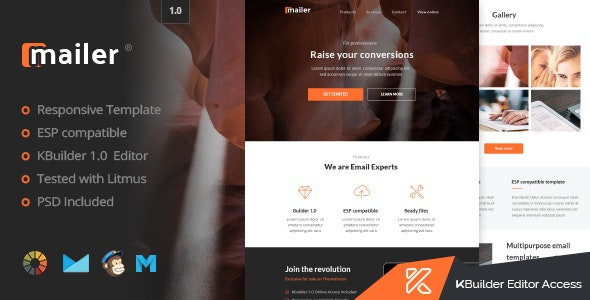Mailer - Responsive Email Template + Builder 2.0 - Email Templates Marketing