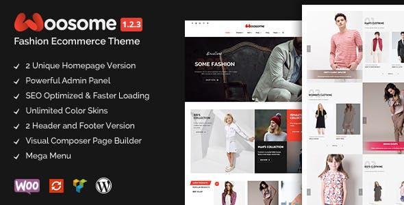 Woosome - Fashion & Lifestyle WooCommerce WordPress Theme