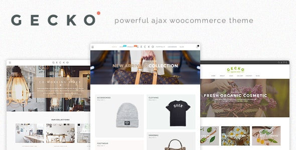 Gecko - Powerful Ajax WooCommerce Theme by JanStudio