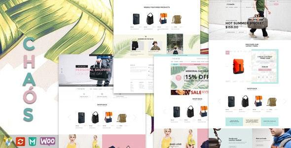 Chaos - Responsive Bag Shop Theme - WooCommerce eCommerce
