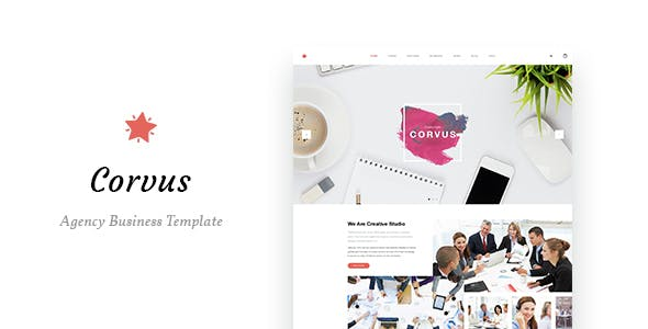 Corvus - Agency Business HTML Template