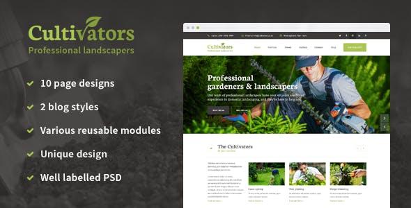 Cultivators Gardening Design