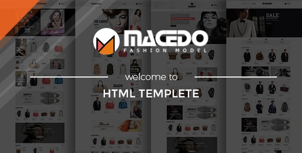 Macedo - Fashion HTML Template - Fashion Retail