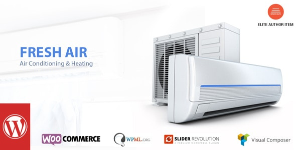 FreshAir - Air Conditioning & Heating WP Theme - Business Corporate