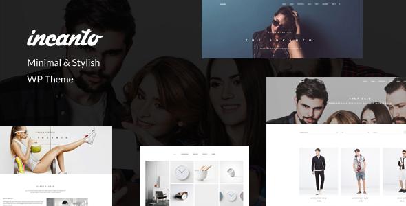 Incanto - Minimal & Stylish WP Theme - Business Corporate