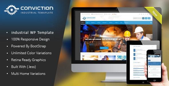 Conviction - Responsive Multi-Purpose WordPress Theme - Business Corporate