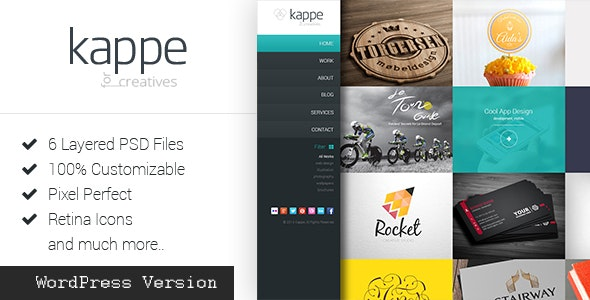 Kappe - Full Screen Portfolio & Blog WP Theme - Photography Creative