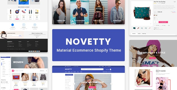 Novetty - Responsive Shopify Theme - Fashion Shopify