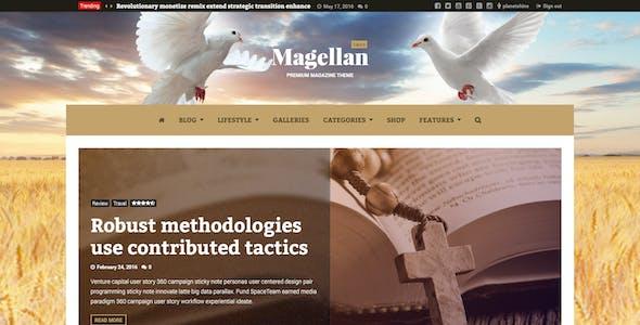 Magellan - Video News & Reviews Magazine HTML Template
